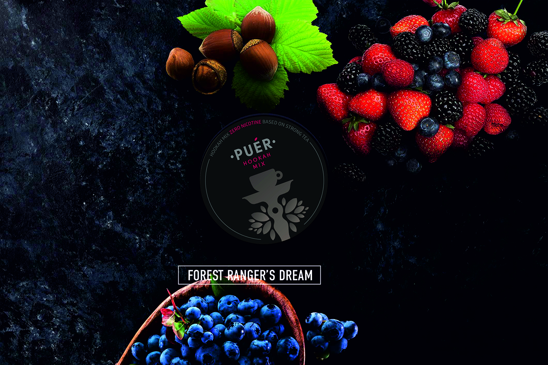 Forest Ranger's Dream / Орех с Лесной Ягодой / Nuc cu fructe de padure Puer Hookah Mix 17