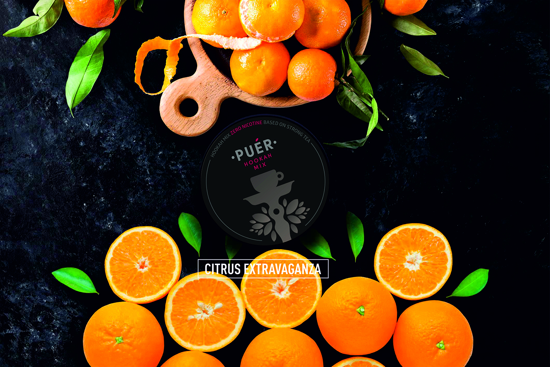 Citrus Extravaganza / Апельсин-Мандарин / Portocaliu-Mandarin Puer Hookah Mix 19